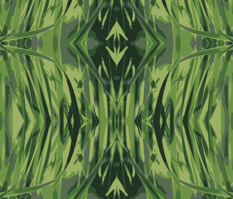 Grassy Lines fabric by madex on Spoonflower - custom fabric