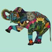 Rasian_elephant_aqua_cotton_fq_21x18_04052016_shop_thumb