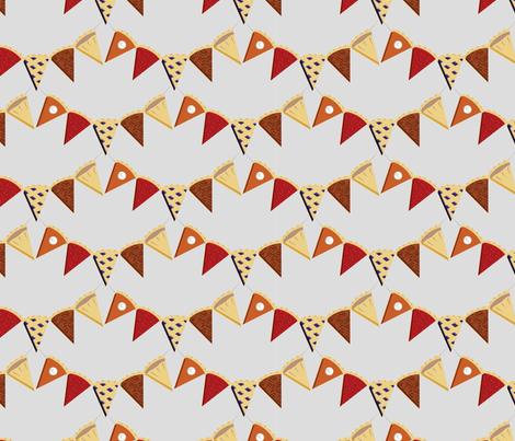 Pie Bunting! fabric by ohgnomegirl on Spoonflower - custom fabric