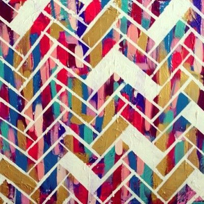 The Painted Herringbone