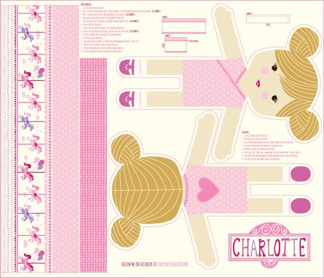 Charlotte_mini fabric by stacyiesthsu on Spoonflower - custom fabric