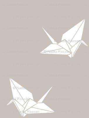 Folded Flock: Warm Gray