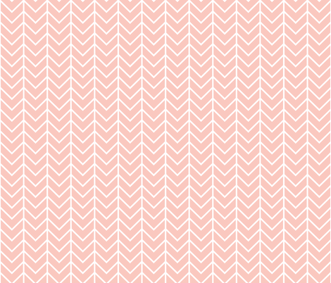 pink chevron fabric by ivieclothco on Spoonflower - custom fabric