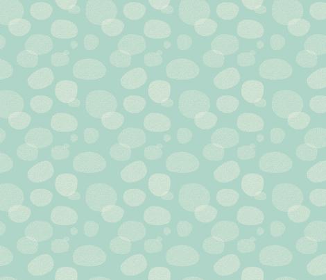 Bubble_Blobs in Aqua fabric by emilyannstudio on Spoonflower - custom fabric