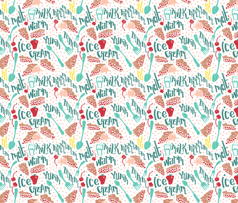 DavidsDottyPie fabric by lucinderella on Spoonflower - custom fabric