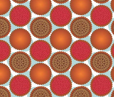 I like pie fabric by melhales on Spoonflower - custom fabric