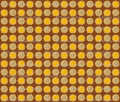 Pies Fabric By Kristie Hubler