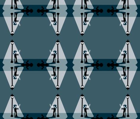 filmnoir fabric by twistedblossom on Spoonflower - custom fabric
