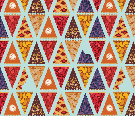 disapearing_pie-01 fabric by littlemeganlittle on Spoonflower - custom fabric