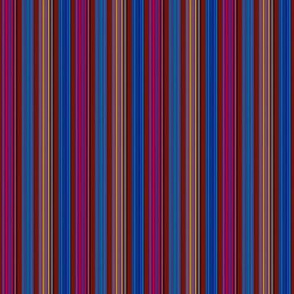 INDIAN FEATHERS STRIPES LINES