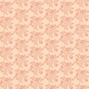 Mini Caslon Rose Coral