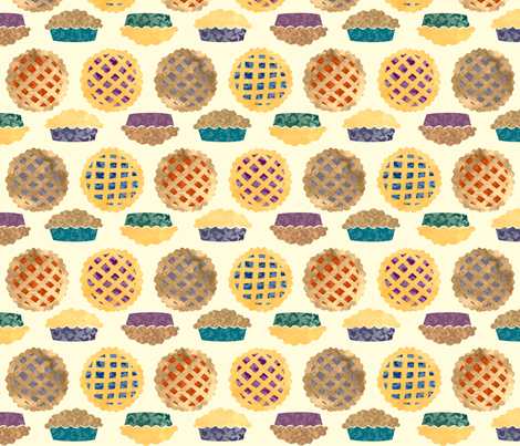 PIES fabric by narthex on Spoonflower - custom fabric