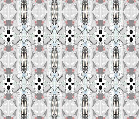 Lim_ghostpattern fabric by ivie_lim on Spoonflower - custom fabric