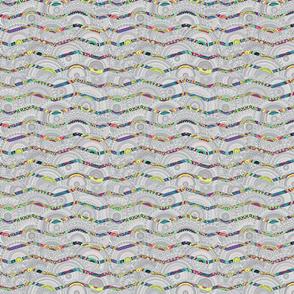 Colorful Chevron Waves