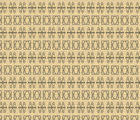 Andrew_Hong_Ghost_Pattern fabric by andrew_h on Spoonflower - custom fabric