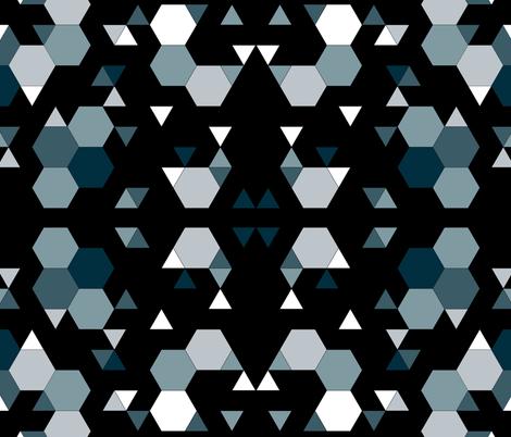 Kiy_Noir fabric by deliciojuslybrutal on Spoonflower - custom fabric