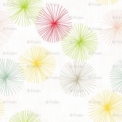 Dandelions Confetti by Friztin