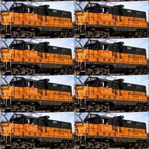 Milwaukee Road engine