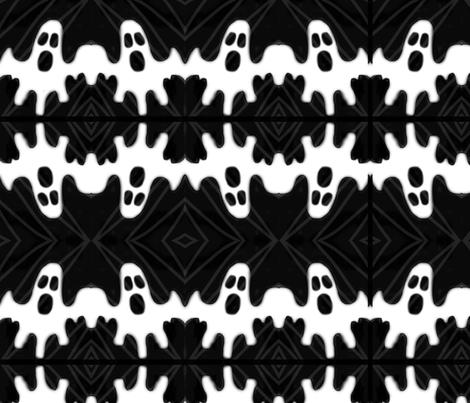 Kaplan_ghost_contest_pattern fabric by emmakaplan on Spoonflower - custom fabric
