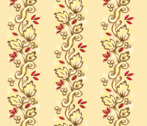 Pie Crust Stripe fabric by beesocks on Spoonflower - custom fabric
