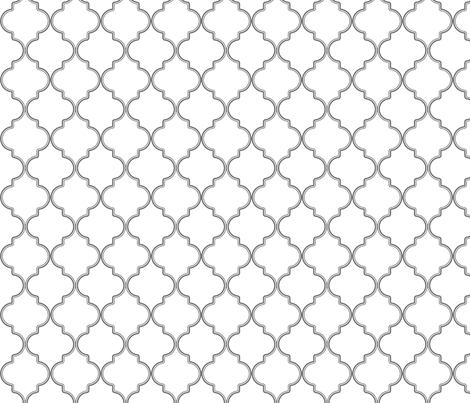 Quatrefoil Love fabric by detail_oriented_studio on Spoonflower - custom fabric
