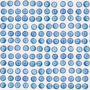 bingo dots in pale blue