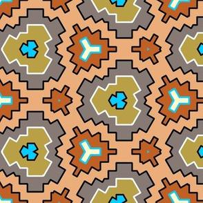 Desert Jam geometric cactus flowers