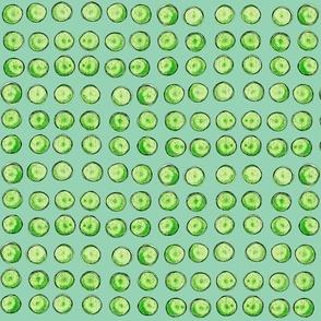 bingo dots in green