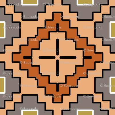 Adobe Dreams desert geometric