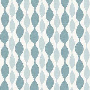 Sea and Spa Beaded Linen Stripe