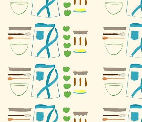 pie essentials fabric by nicolelizabeth on Spoonflower - custom fabric