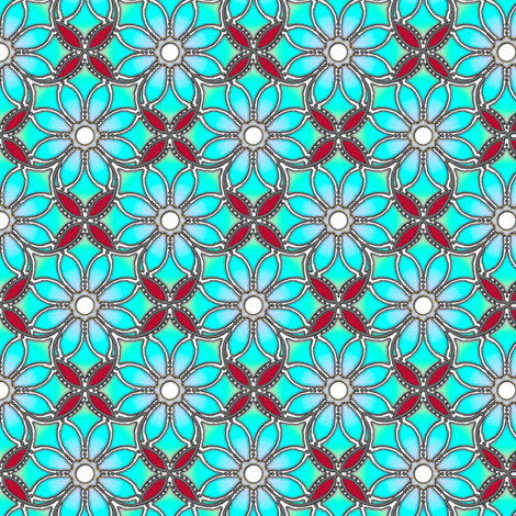 happy lacy fabric by keweenawchris on Spoonflower - custom fabric