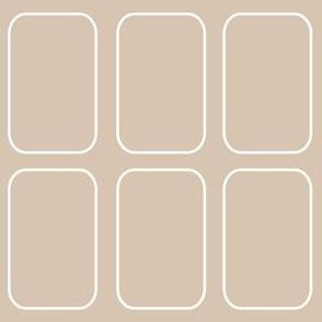 rectangles beige