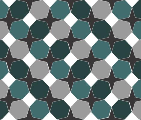 Geo-Noir fabric by arae911d on Spoonflower - custom fabric