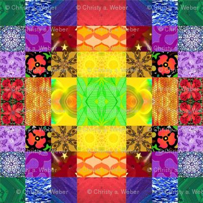 Bold Color Pattern - Large