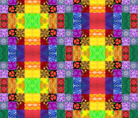 Bold Color Pattern - Large fabric by chrisanne on Spoonflower - custom fabric