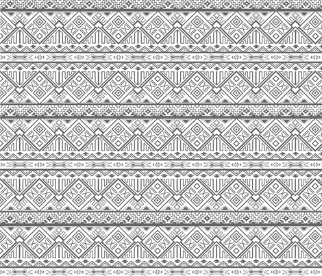 Aztec Madness fabric by detail_oriented_studio on Spoonflower - custom fabric