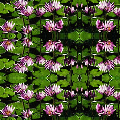 Lilies fabric by b&t_quilts on Spoonflower - custom fabric