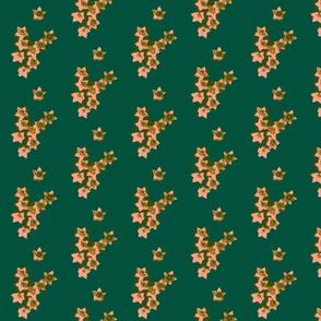 Flower  V-sign-green