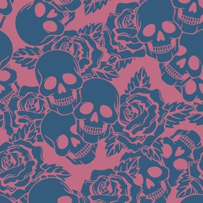 Berry Skulls Large