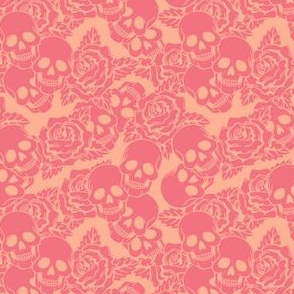 Strawberry Skulls Small