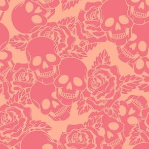 Strawberry Skulls Large