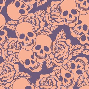 Boysenberry Skulls Large