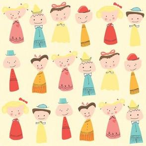 Happy Little Friends