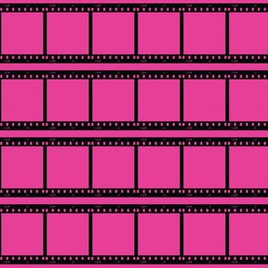 Film Strip on Pink