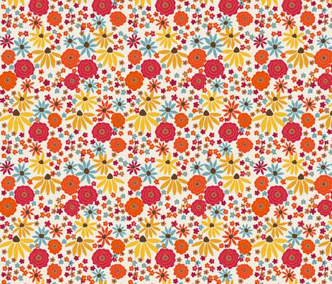 POPPIES fabric by lfntextiles on Spoonflower - custom fabric