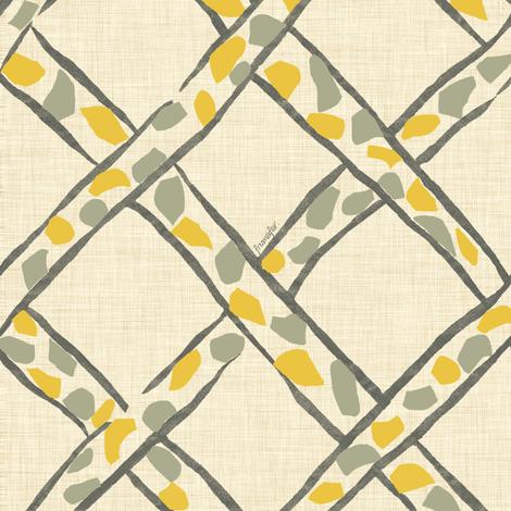 Basket Giraffe - blonde - fabric by frumafar on Spoonflower - custom fabric