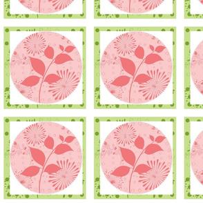 Island Quilt Pinwheels Layers Kiwi Strawberry shake