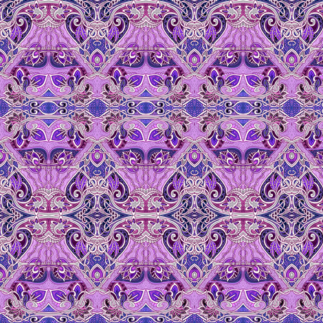 Antique Lavender Romance fabric by edsel2084 on Spoonflower - custom fabric