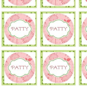 Island Quilt Hallmark Pinwheels Layers Kiwi Strawberry shake-Personalized